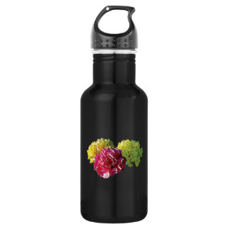 Yellow and Pink Carnations Water Bottle