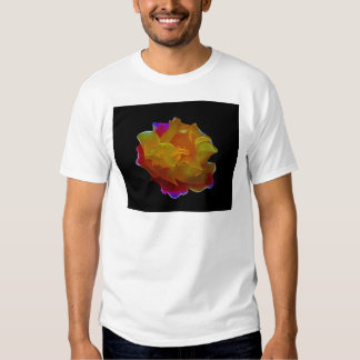 Yellow and pink rose and meaning tee shirt