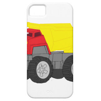 Yellow and Red Dump Truck Construction Vehicle iPhone 5 Covers