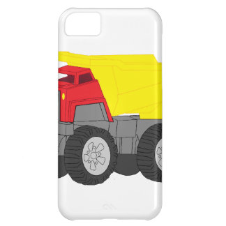 Yellow and Red Dump Truck Construction Vehicle iPhone 5C Cover