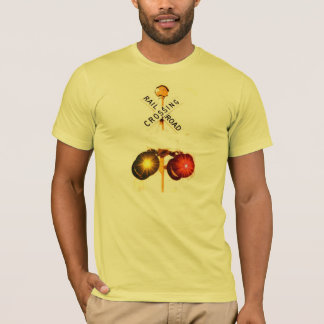 Yellow And Red Flashing Lights T-Shirt