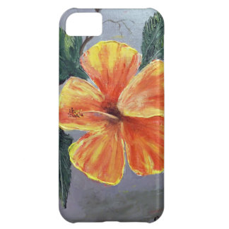 Yellow and Red Hibiscus iPhone 5C Case