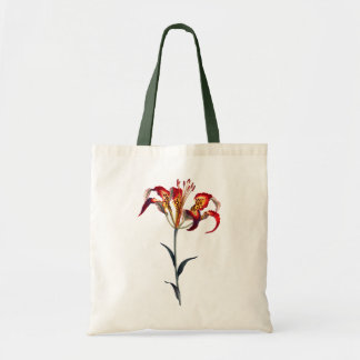 YELLOW AND RED LILY Tote Bag Bags