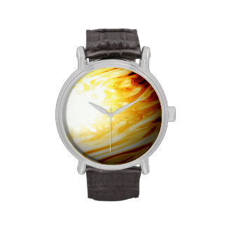 Yellow and Red Planet Watches