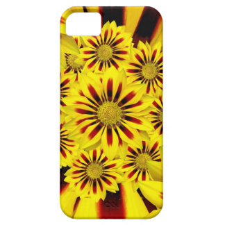 Yellow and Red Striped Gerbera Daisy iPhone 5 Case