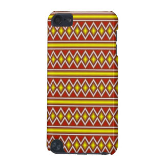 Yellow and red tribal pattern iPod touch (5th generation) covers