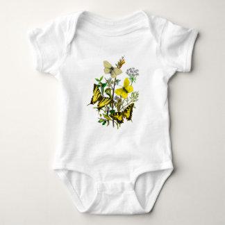 Yellow and Swallowtail Butterflies T-shirt