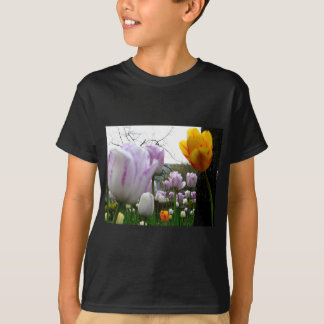 Yellow and Violet T-Shirt