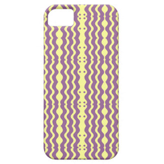 yellow and Violet Zigzag design Case