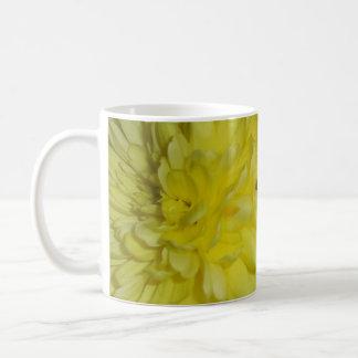 Yellow and White Chrysanthemums Mug