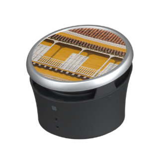 Yellow and White Colonial Balcony Bluetooth Speaker