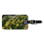 Yellow and White Daffodils Spring Flowers Bag Tag