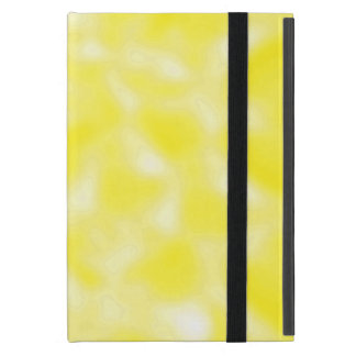 Yellow and White Mottled Case For iPad Mini