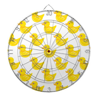 Yellow and White Rubber Duck, Ducky Dartboards