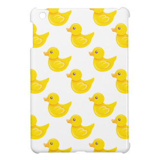 Yellow and White Rubber Duck, Ducky iPad Mini Cases