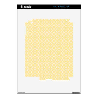 Yellow and White Skin For The iPad 2
