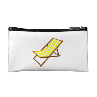 yellow and white striped wooden beach chair.png cosmetics bags