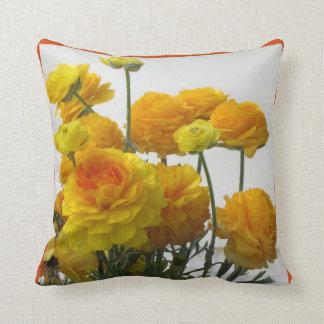 Yellow Anemones American MoJo Pillow