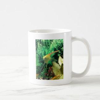 yellow angel fish coffee mug