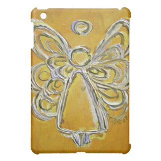 Yellow Angel iPad Case