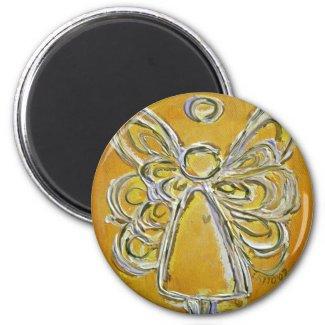 Yellow Angel Magnet