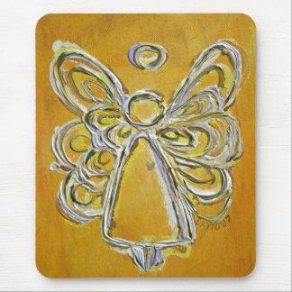 Yellow Angel Mousepad