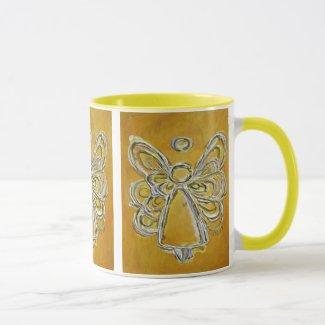 Yellow Angel Mug or Cup