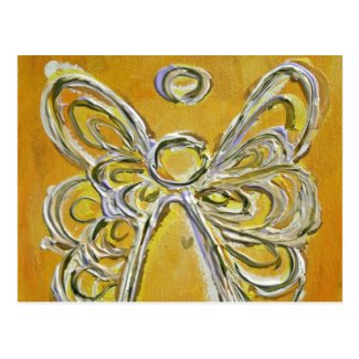 Yellow Angel Postcard