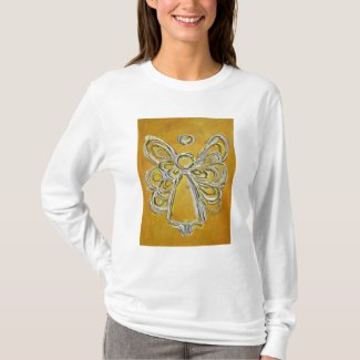 Yellow Angel T-shirt (Image Double Sides)