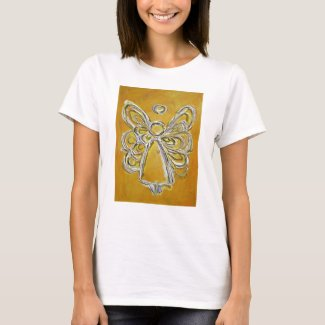Yellow Angel T-shirt (Image on Front)