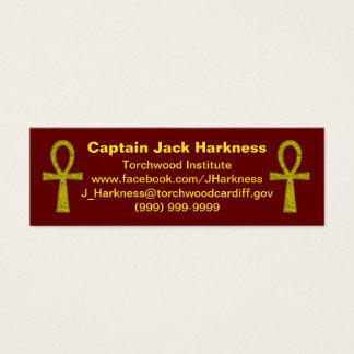 Yellow Ankh Profile Card