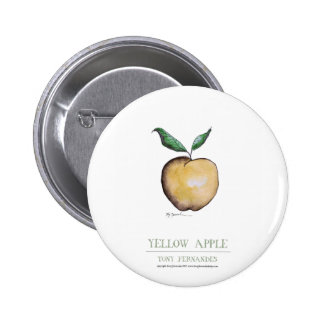 yellow apple, tony fernandes pin