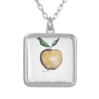 yellow apple, tony fernandes pendant