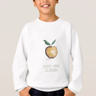 yellow apple, tony fernandes sweatshirt