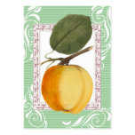 Yellow Apple Vintage Style Cards Business Card Template