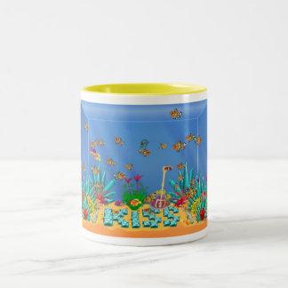 Yellow Aquarium Mug
