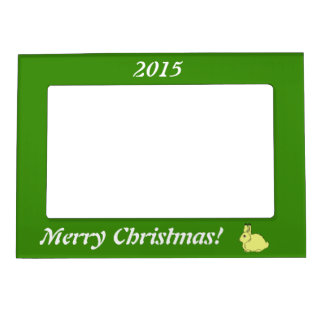 Yellow Arctic Hare Magnetic Frame