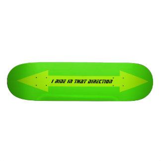 Yellow Arrow Boards Skateboard