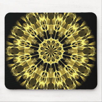 Yellow Arrows Mouse Pad