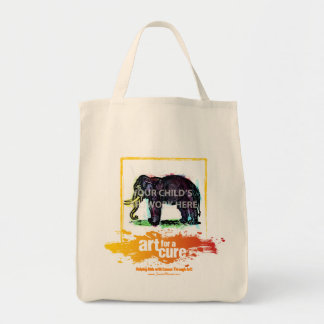 """Yellow """"Art for a Cure"""" Tote  $20.95 Bags"""