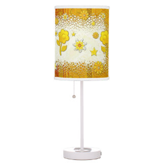 Yellow at play jeweled girls tween teen table lamps - Table lamps for teens ...