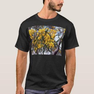 Yellow Australian wattle tree blossoms T-Shirt