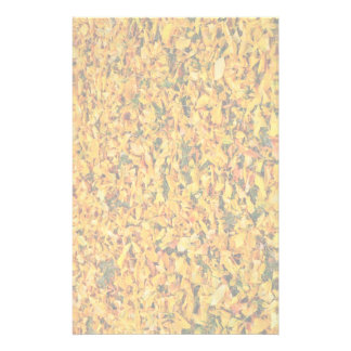 Yellow autumn leaves carpet stationery paper