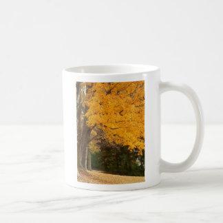 Yellow Autumn mug