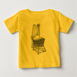 Yellow Baby Bassinet Baby T-Shirt