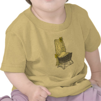 Yellow Baby Bassinet Tshirt