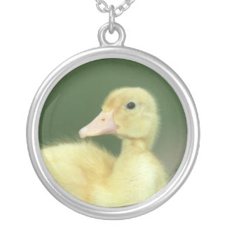Yellow Baby Duckling Duck Necklace