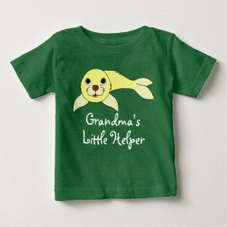 Yellow Baby Seal Baby T-Shirt