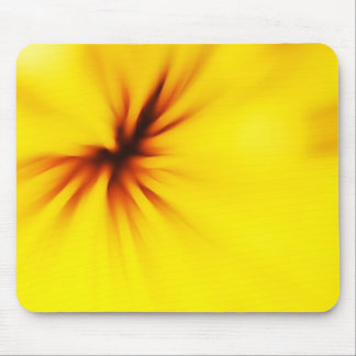 Yellow background mouse pad