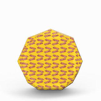 Yellow bacon pattern awards